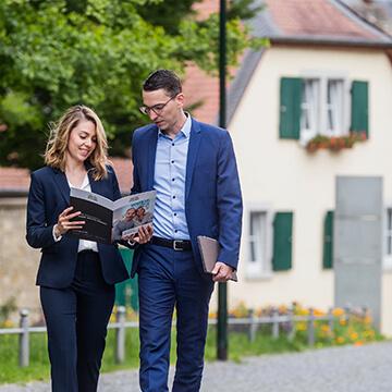 Hochdrei Immobilien Besichtigung
