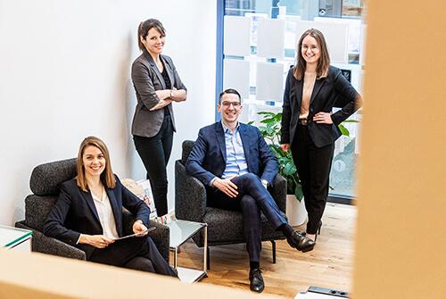 Hochdrei Immobilien Team